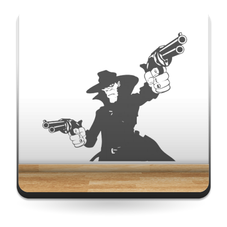 Pistolero imagen vista previa