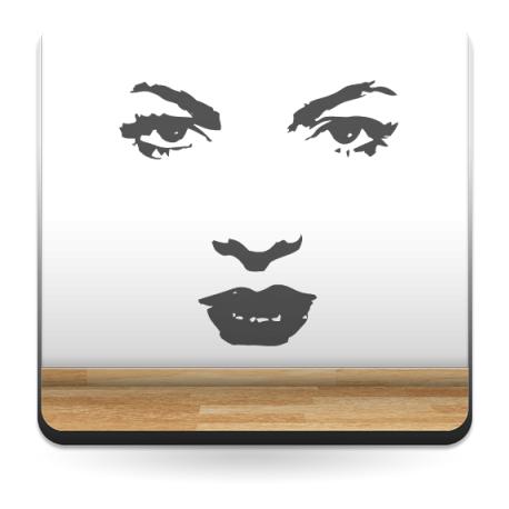 Sara Montiel I adhesivo decorativo ambiente