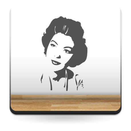 Ava Gardner imagen vinilo decorativo