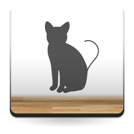 vinilo decorativo Gato Motivo II