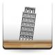 vinilo decorativo Torre de Pisa Motivo