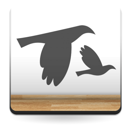 Pájaros motivo imagen vista previa