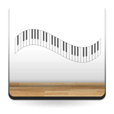 vinilos imagen producto Teclas Piano II para Cabecero
