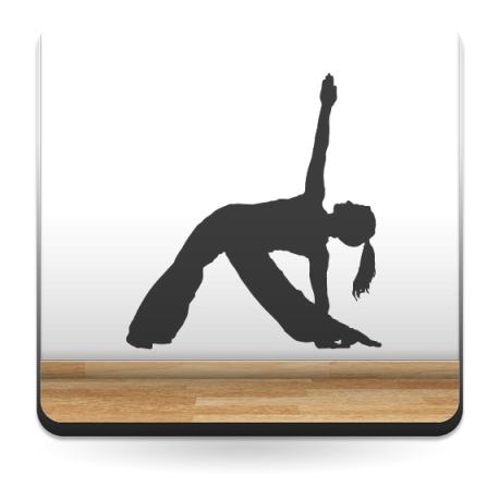Yoga Postura II producto vinilos