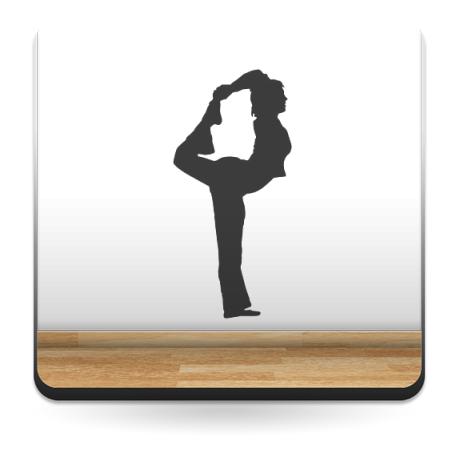 vinilos imagen producto Yoga Postura III