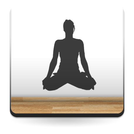Yoga Postura VIII adhesivo decorativo ambiente