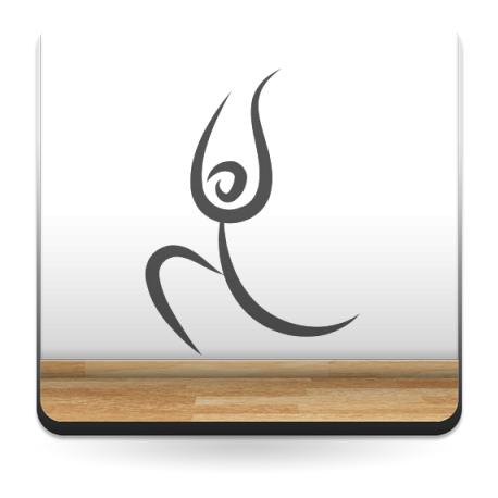 vinilos imagen producto Yoga Motivo III