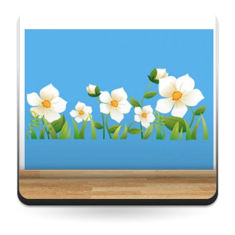 adhesivo decorativo Flores Colección Alfy