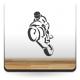 pegatina pared Moto Carreras Motivo I