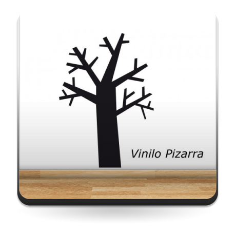 vinilo decorativo Pizarra Árbol