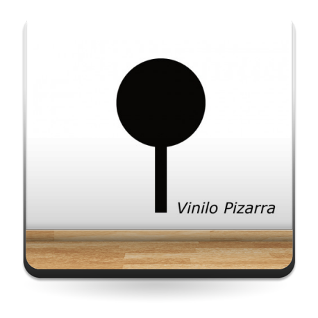 adhesivo decorativo Pizarra Árbolíto