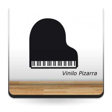 Pizarra Piano producto vinilos
