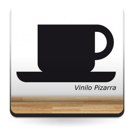 Pizarra Café producto vinilos