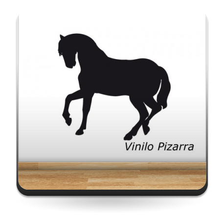vinilos imagen producto Pizarra Caballo I
