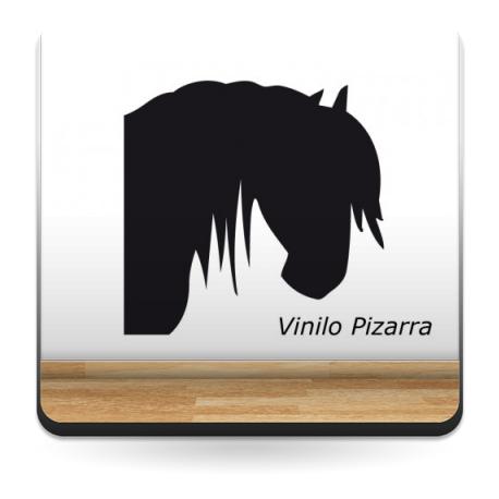 Pizarra Caballo II imagen vinilo decorativo