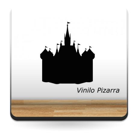 Pizarra Castillo adhesivo decorativo ambiente