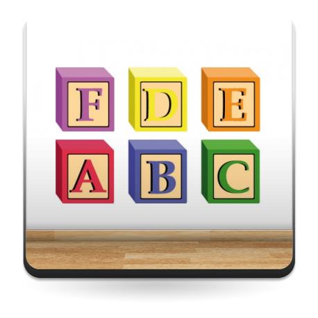 Aprende Letras Cubos producto vinilos