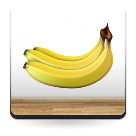 Plátanos imagen vinilo decorativo