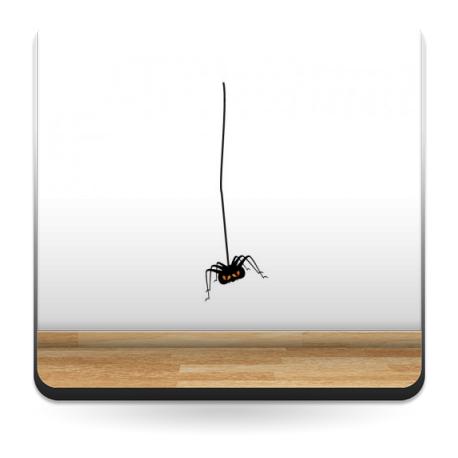 Araña Colgante imagen vinilo decorativo