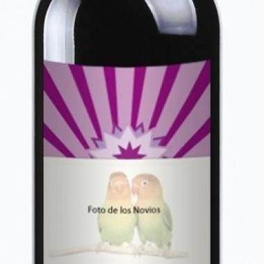 "Etiqueta Vino ""Fiesta"" 20 UDS producto vinilos"