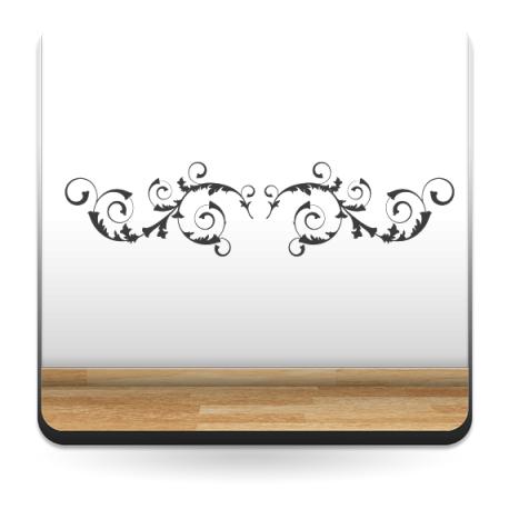 pegatina decorativa Ornamento Apaisado