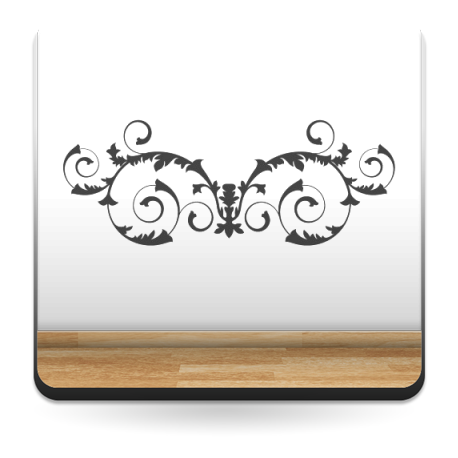 Ornamento Orla Apaisada imagen vinilo decorativo