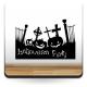 Halloween Calabazas Party producto vinilos