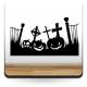 adhesivo decorativo Halloween Calabazas Party