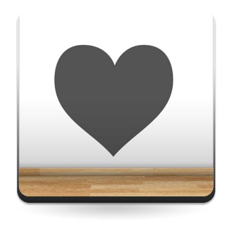 vinilos imagen producto Corazón Corazón