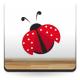 Mariquita Roja imagen vinilo decorativo