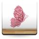 Mariposa Rosé adhesivo decorativo ambiente