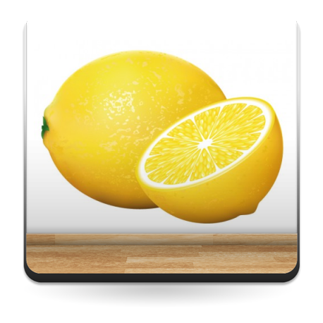 pegatina pared Limones