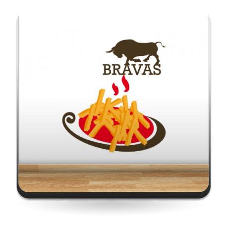 vinilos imagen producto Bravas