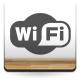 pegatina decorativa Símbolo Wifi
