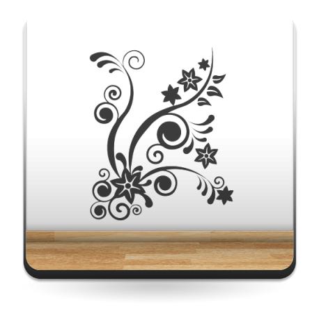 adhesivo decorativo Chispeante Floral