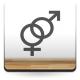 Símbolo Hombre y Mujer imagen vista previa