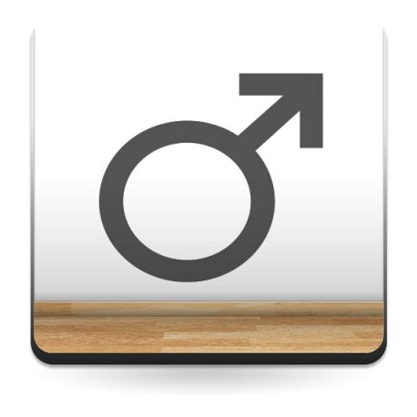 vinilos imagen producto Símbolo Hombre