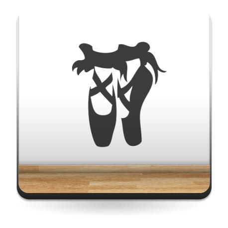 pegatina decorativa Zapatillas de Ballet