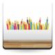 Vinilo Lapices de colores-vinilos-decorativos