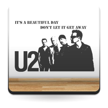 Vinilo U2 Decoración decoración con vinilo