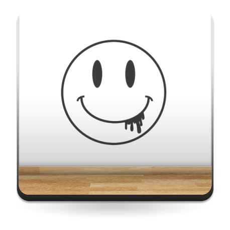 vinilos imagen producto Vinilo Smiley Baba