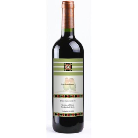 """pegatina decorativa Etiqueta Vino """"Vintage"""" 20 uds."""