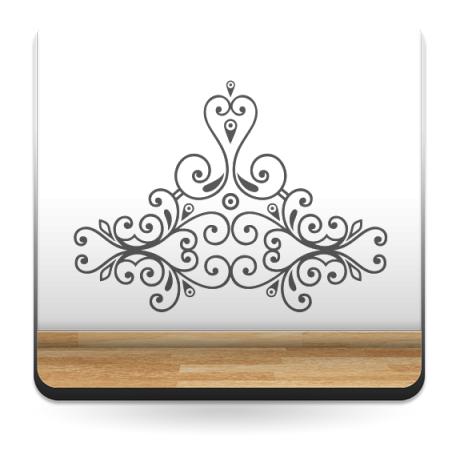 pegatina decorativa Vinilo Cabecero Emperatriz
