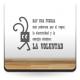 La Voluntad Texto en Vinilo producto vinilos