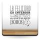 vinilos imagen producto Frase sobre La Felicidad Vinilo