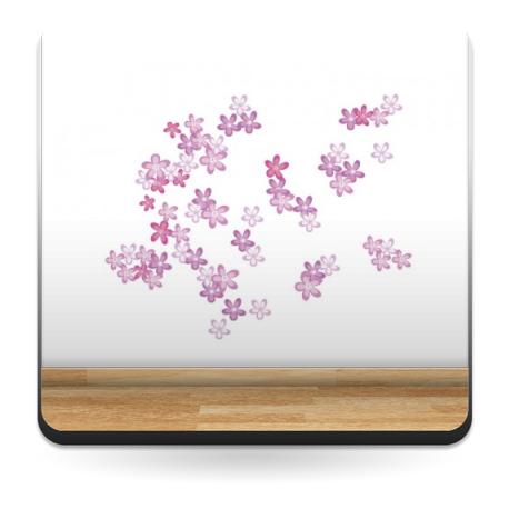 Florecillas Composición imagen vinilo decorativo