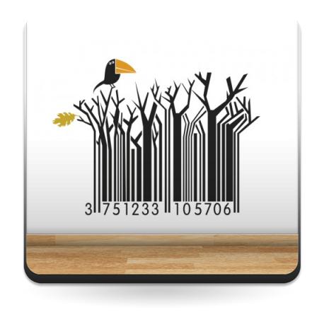 pegatina pared Natura Code