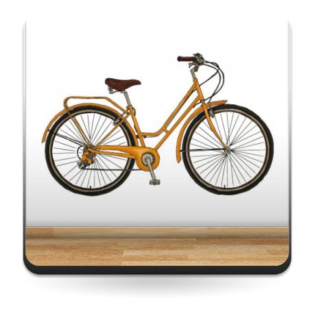 vinilos imagen producto Bicicleta para Pared