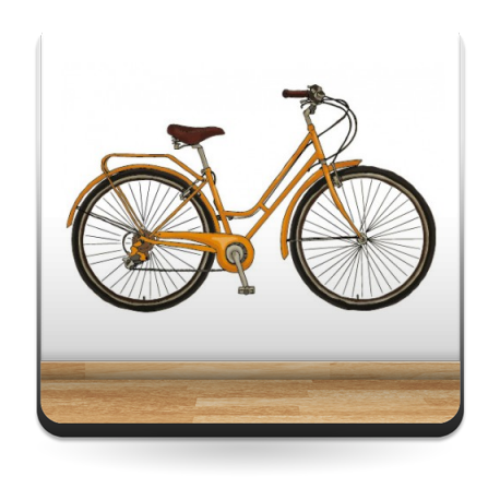 adhesivo decorativo Bicicleta para Pared