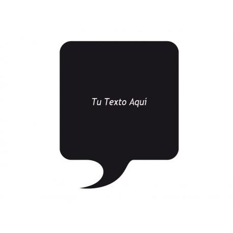 Bocadillo Texto Comic 01 producto vinilos